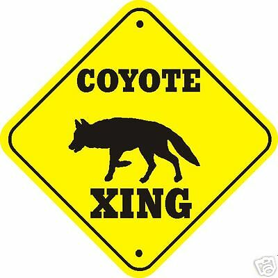 Coyote Xing Sign