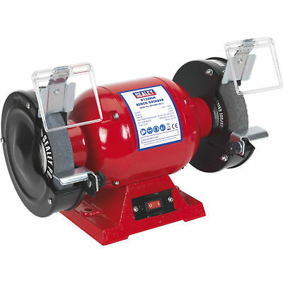 "Sealey 150mm 6"" Workshop Bench Grinder Twin Grinding Stones 370w 240v BG150XL/96"