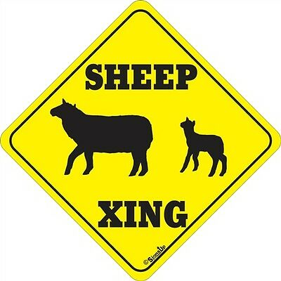 Sheep Xing Sign