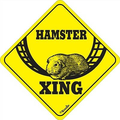 Hamster Xing Signs