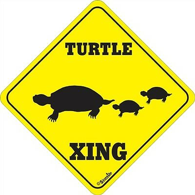 Turtle Xing Signs Many More Crossings signs Available
