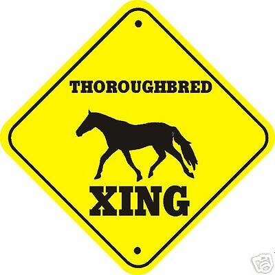 Thoroughbred Xing Sign