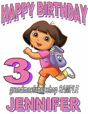 026 DORA THE EXPLORER COLORFUL PERSONALIZED CUSTOMIZED DOOR ROOM POSTER