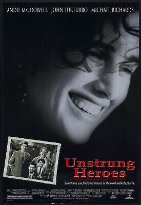 UNSTRUNG HEROES - D/S Original Movie Poster One Sheet