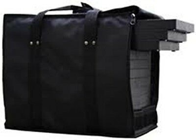 Premium Jewelry Travel Case With 12 Black Trays