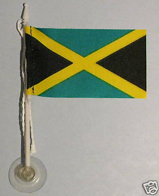 Jamaica MiniPole Car / Window Flag NEW