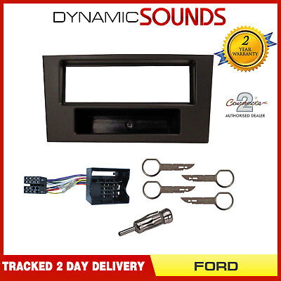 Car CD Fascia Surround Panel & Fitting Kit For Ford Mondeo MK3 (2003 - 2007)