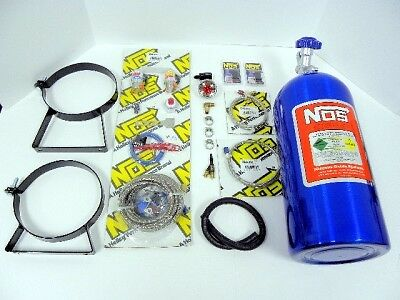 4 & 6 Cyl Nos Wet Nitrous System Bottle Gauge Kit New