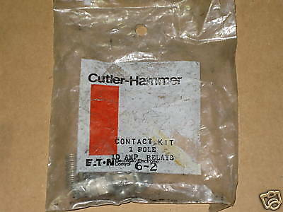 Cutler Hammer 6-2 6 2 Contact Kit 1 Pole 10 Amps NEW