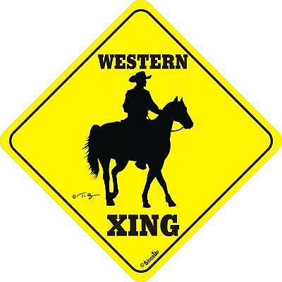 Western Xing Sign