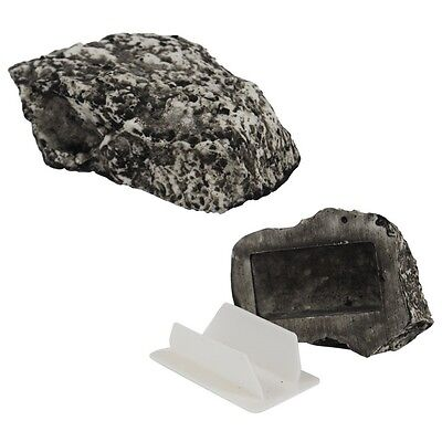 Stone Rock Hide-A-Key Hidden Diversion Safe - Fast Free Shipping - U.S. Seller