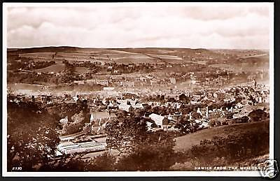 Hawick From the Wellogate by Edwards, Selkirk # 2330.