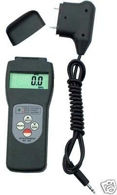 Wood to Concrete Moisture Meter Pin Pinless RS232 to PC