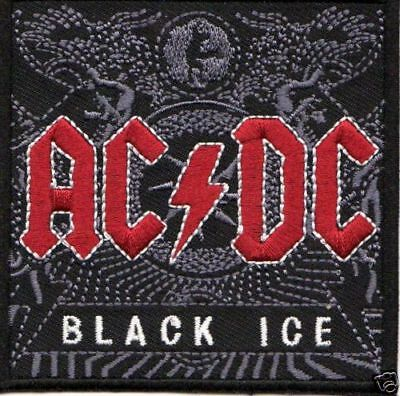 ACDC BLACK ICE  IRON ON PATCH  buy 2 get 1 free