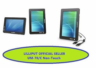 """Lilliput 7"""" Um-70/c Usb One Cable Does It All  Usb  Monitor-Non Touch"""