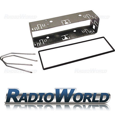 Universal Car Replacement Radio Single DIN Cage inc Removal keys + Spacer