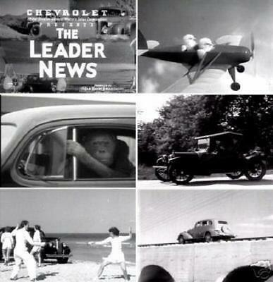 Newsreels Chevrolet Leader News 15 Vintage Films 1935 -1939 DVD
