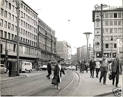 1960 FRANKFURT MAIN real photo art
