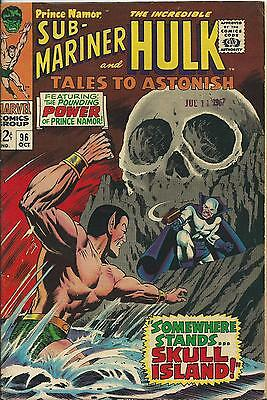 Tales To Astonish #96 (1967) (Marvel) (Hulk) F/vf