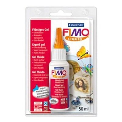 FIMO Deko Deco Decorating Gel Liquid Polymer Clay 50ml Staedtler