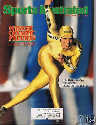 2/11/80 Sports Illustrated - ERIC HEIDEN Cover
