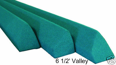 Replacement Pool Table Rails for 6 1/2' Valley, covered