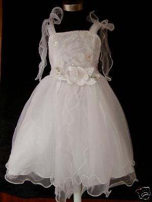 New Flower Girl Party Bridesmaid FairyChristening Dress