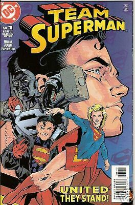 Team Superman #1 (1999) (Dc) Double-Sized