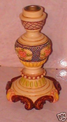 NIB Harmony Kingdom Jardinia Candle Holder Pomona NEW