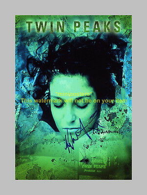 "TWIN PEAKS PP SIGNED POSTER 12""X8"" Kyle MacLachlan"