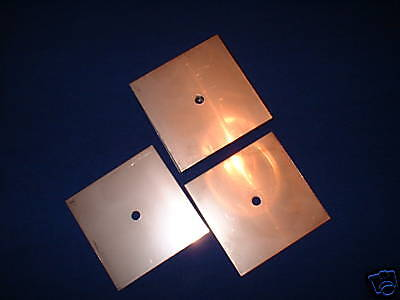 "Stainless Steel Plates 3""x3"" Hydrogen Generator / Hho"