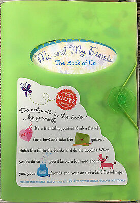 Klutz Me & My Friends Book Of Us Kids Activity Book