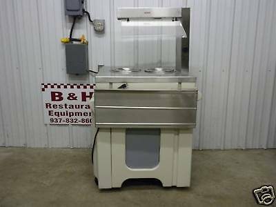 "Galley 28"" Stainless 2 Well Steam Table Soup Station"
