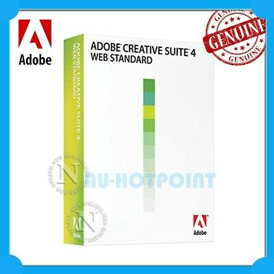 Adobe Creative Suite CS4 WEB Standard WIN CS 4 STU