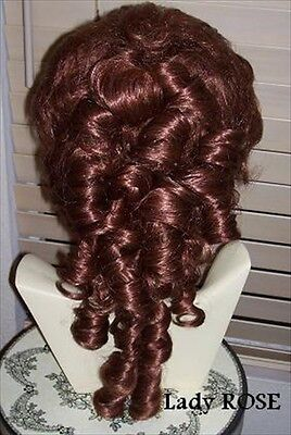 Victorian style WIG SASS theater STYLE and Color choice