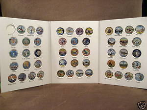 1999-2008 Colorized State Quarters Album Of Fifty
