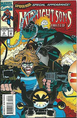 Midnight Sons Unlimited #3 (Ghost Rider)  (Marvel)