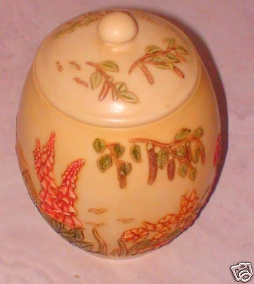 NIB Harmony Kingdom Jardinia English Garden Jar NEW