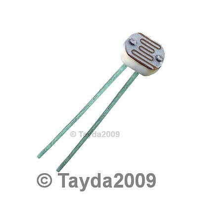3 x Photo Conductive Cell 650nm RADIAL KE-10720 FREE SHIPPING