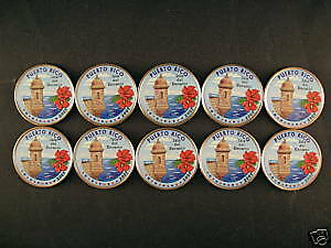 10-2009 Colorized Puerto Rico State Quarters