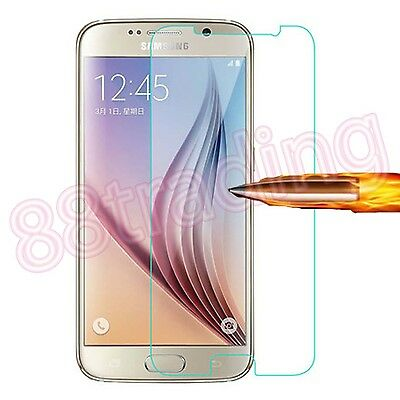 Tempered Glass Screen Protector Protection for Samsung Galaxy S7
