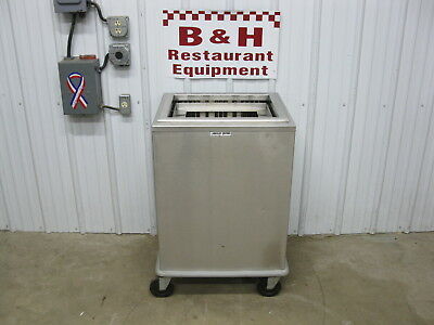 "Servolift Eastern AT-ST Stainless 14"" x 18"" Serving Tray Lowerator Cart Rack"