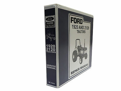 Ford 1920 and 2120 Tractor Factory Service Manual Repair Shop Book NEW w/Binder