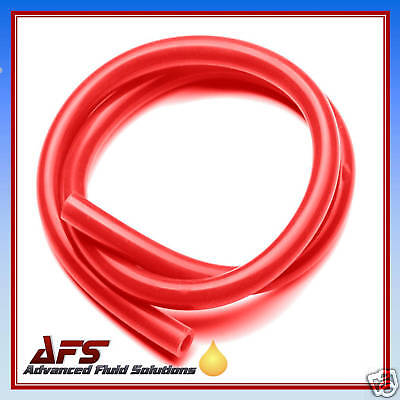 5mm x 1 METRE RED SILICONE HOSE 3/16 SILICON TUBING VAC