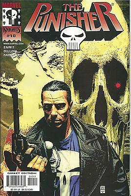 Punisher #10  (Marvel Knights)  2000 Series