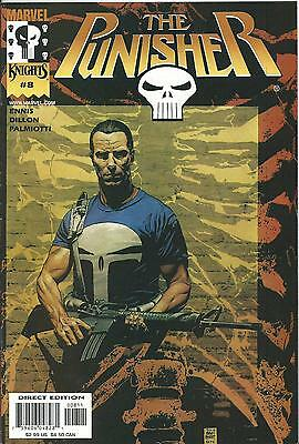 Punisher #8  (Marvel Knights)  2000 Series