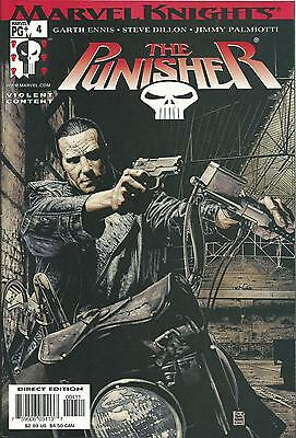 Punisher #4 (Marvel Knights)  2001 Series