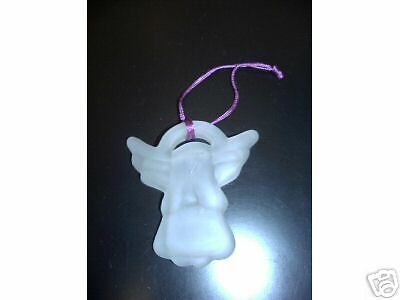Opaque Glass Angel Ornament - New