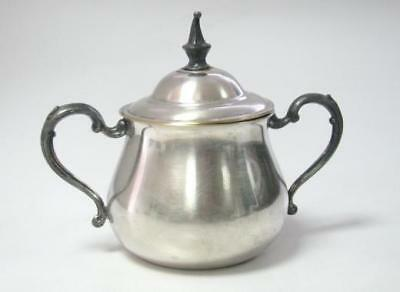 Old Marked Sheridan Silverplate Sugar Bowl