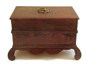 Antique Grain Painted Tabletop Writing Desk ~ 1830-40